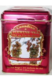 Real Ice Wine - Burgundy Square Tin