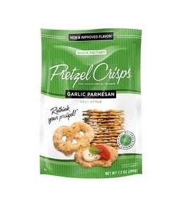 Pretzel Crisps - Garlic Parmesan 200g