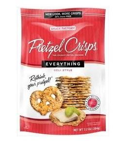 Pretzel Crisps - Everything  200g