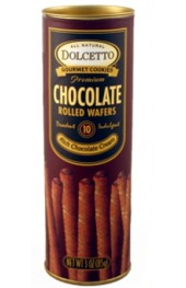 Chocolate Cream Filled Wafer Rolls  85g