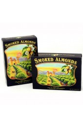 California Smoked Almonds Black Box 2oz