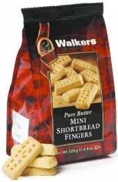 Mini Shortbread Fingers  125g