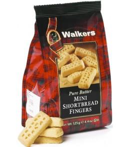 Mini Shortbread Fingers  125g Bag