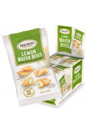 Dolcetto Lemon Mini Wafer Bites 20g x 24bags per box