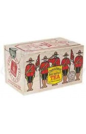Canadian Breakfast Tea RCMP  Soft Wood Box 25tbg