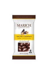 Dark Chocolate Sea Salt Cashews 60g