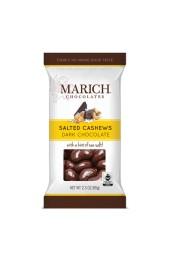 Dark Chocolate Sea Salt Cashews 60g