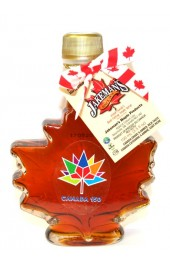 Canadian Maple Syrup 100ml Maple Leaf Bottle