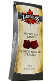 Maple Leaf Shaped Hard Candies  80g.