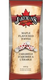 Maple Flavoured Toffee Candies  100g