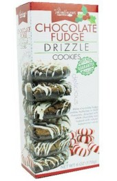 Chocolate Fudge Peppermint Drizzle Cookies  170g