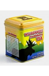Wilderness Huckleberry Tea  Yellow Tin  24 Bags