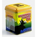 Wilderness Huckleberry Tea  Yellow Tin  12 Bags