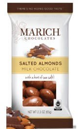 Milk Chocolate Sea Salt Almonds  60g