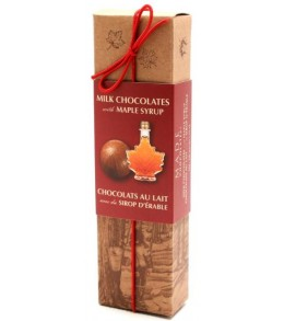 Maple Milk Chocolates  5pc  50g Long Box
