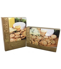 Three Pepper Blend Water Crackers  227g