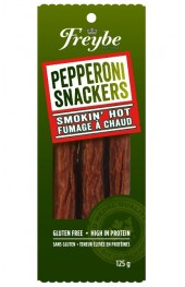 Freybe Smokin' Hot Pepperoni Snacks  125g