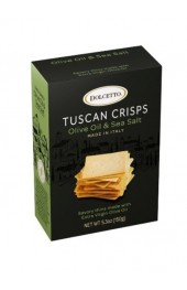 Dolcetto Tuscan Crisps Olive Oil and Sea Salt  150g