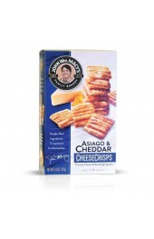 Asiago and Cheddar Cheese Crisps  127g