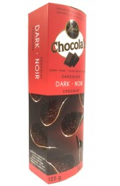 Chocola's Dark Chocolate Crispy Thins 80g.