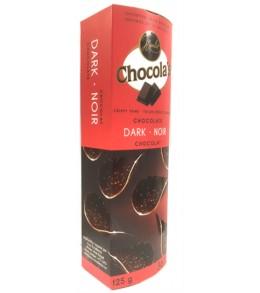 Chocola's Dark Chocolate Crispy Thins 80g.
