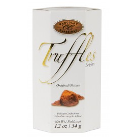 Classique Truffles - Hex Box - White 34g