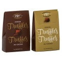 Classic Cocoa Truffles  17g 2pc. Brown/Gold Tote