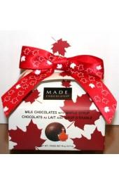 Maple Milk Chocolates  90g Purse Box with Bow