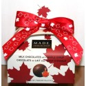 Maple Milk Chocolates  90g Purse Box with Bow