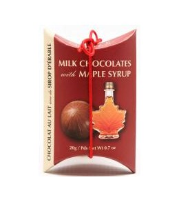 Maple Milk Chocolates 20g 2pc