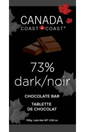 C2C 73% Dark  Chocolate 100g Bar