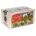 Canadian Tea Soft Wood Box  Ice Wine 12 Bags/box