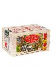 Canadian Tea Soft Wood Box  Maple 12 Bags/box