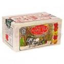 Canadian Tea Soft Wood Box  Maple 12 Bags/box
