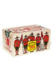 Canadian Tea Soft Wood Box-RCMP- Cdn.Breakfast 12 Bags/box