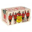 Canadian Tea Soft Wood Box-RCMP- Cdn.Breakfast 12 Bags/box