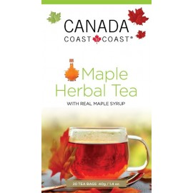 C2C HERBAL MAPLE TEA 20 PYRAMID BAGS IN FOIL
