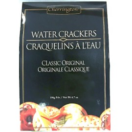 Cherrington 190g Original Water Crackers