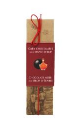Maple Dark Chocolates  5pc  50g Long Box