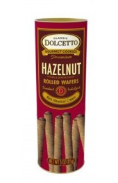 All Natural  Hazelnut Cream Filled Wafer Rolls   85g