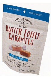 Original Soft Toffee Sea Salt and Butter Caramels  113g. Pouch
