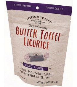 Original Soft Butter Toffee Licorice  113g. Pouch