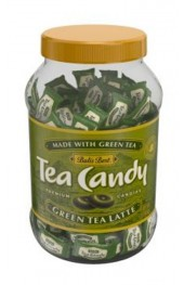 Green Tea Candy  454g   Jar - 130pc.