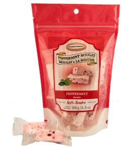 Peppermint  Nougat 150g.  Holiday Only