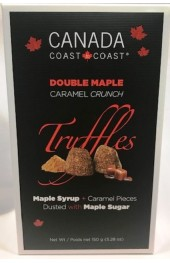 C2C Double Maple Caramel Crunch Truffles  150g.