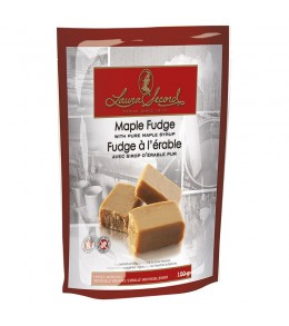 Laura Secord 100g. Maple Fudge   individual wrapped  Pieces Pouch