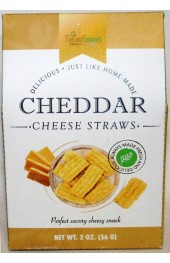 Crispy Cheddar Cheese Straw Biscuits 56g.