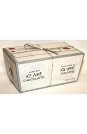 C2C Milk and Dark Ice Wine Truffles  10pc.- 100g. Ballotin Box