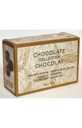 C2C Assorted Chocolates  Truffles  3pc.- 30g. Mini  Box  Sea Salt Caramel, Hazelnut, Dbl Dark