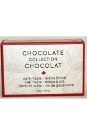 C2C Assorted Chocolates  Truffles  3pc.- 30g. Mini  Box  Milk, Dark Maple, Dark Ice Wine